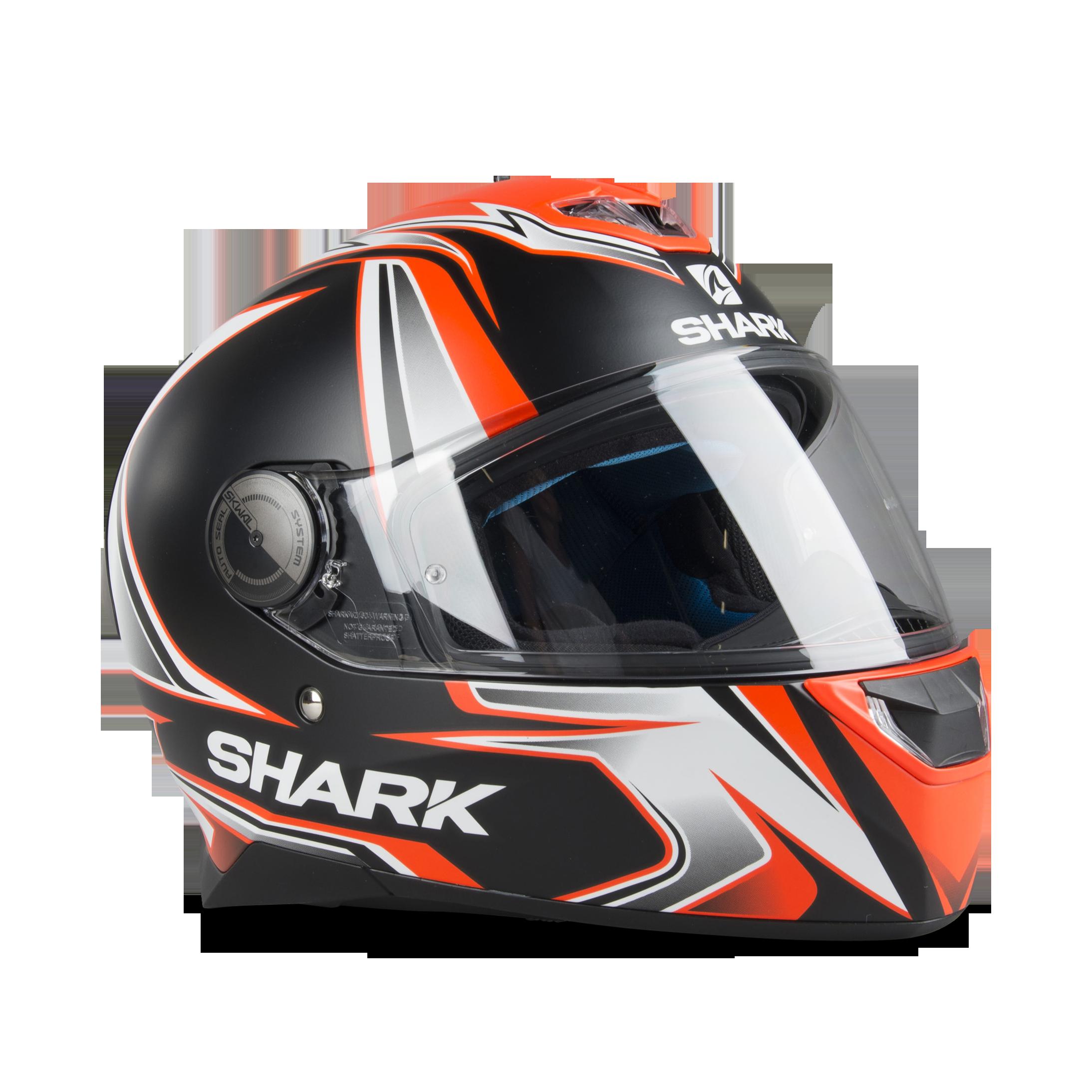 Shark Skwal 2 Blank Integralhjälm Vit