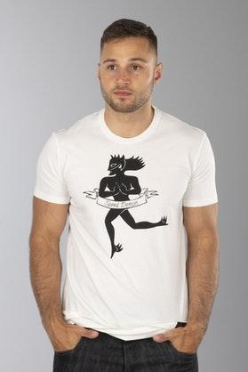 T-Shirt Dainese Essence Biały