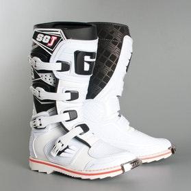 Crossstøvler Gaerne SG-J Junior, Hvid