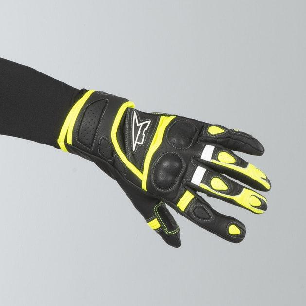 AXO Shield Gloves Black-Yellow