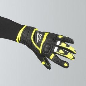 Rękawice AXO Shield Czarno-Żółte