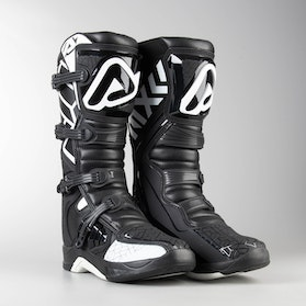 Acerbis X-Team MX Boots Black-White