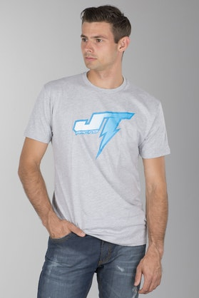 T-Shirt JT Racing Voltage Szary