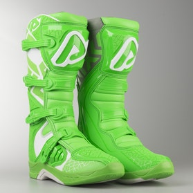 Acerbis X-Team MX Boots Green-White