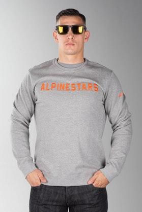 Bluza z Kapturem Alpinestars Distance Szaro-Pomarańczowa