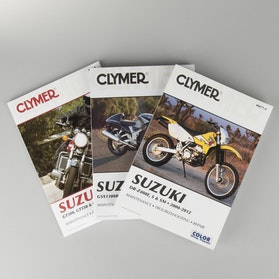 Clymer Suzuki Repair Manual (search by model)