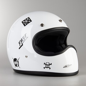 DMD Racer Helmet Flash