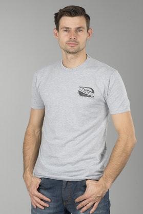 T-Shirt MSR Motorcycles Szary