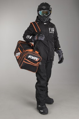 FXR Duffel Sportsbag Black-Orange