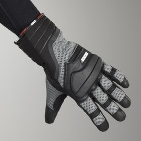 IXS Cartago Gloves Black-Grey