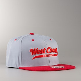 West Coast Choppers Ball Cap Grey-Red