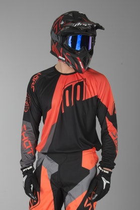 Shot Devo Alert MX-Jersey Neon Orange