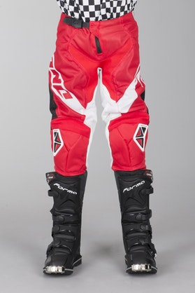 One Industries Atom Vented MX Pant Red
