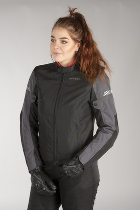 Acerbis Discovery Ghibly Jacket Black-Grey