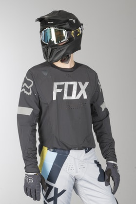 Fox Frequency Base Layer Top Black
