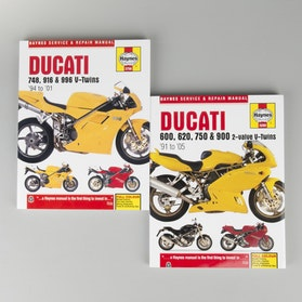 Haynes Ducati Repair Manual (search by model)