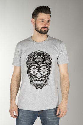Course Sugarskull T-Shirt Grey