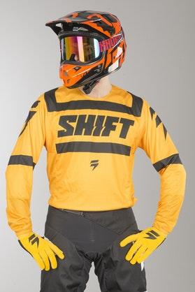 Bluza Cross Shift 3Lack Strike Żółta MX 18