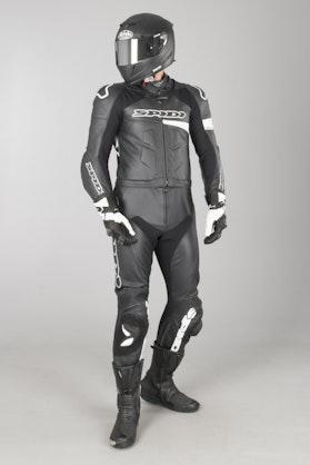 Kombinezon Skórzany Spidi Race Warrior Touring Czarno-Biały