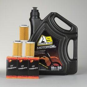 Olie A9 Racing Optimeret For KTM 4L 3-pack Oliefilter