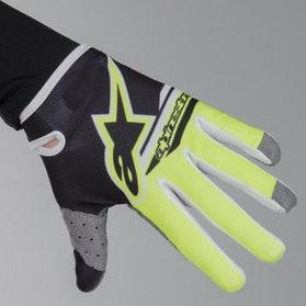 Alpinestars Radar Flight Youth Gloves - Black-Flourescent Yellow