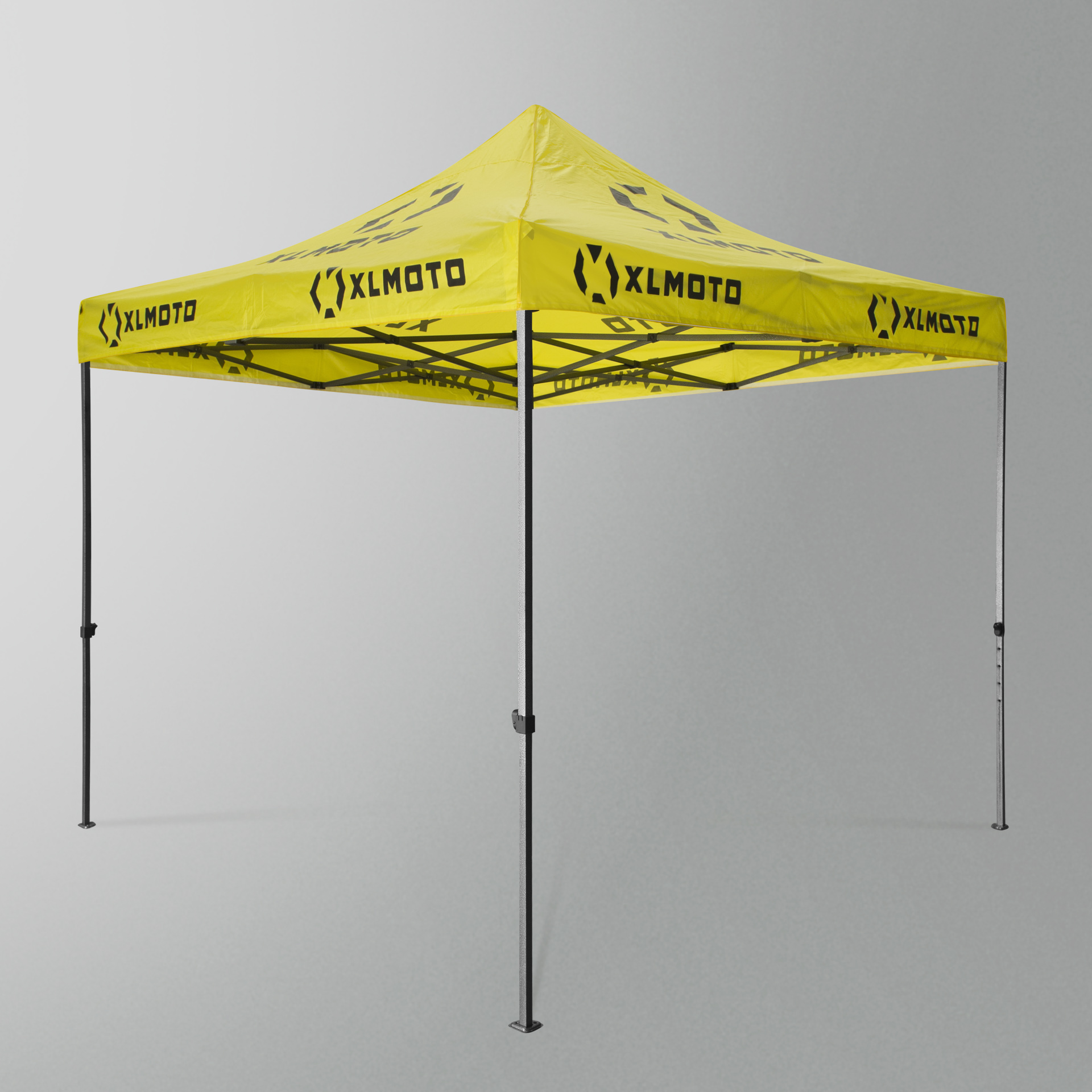 XLmoto Easy Up Race Tent 3x3m Without Walls Yellow