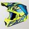 Kask Cross FXR Blade 2.0 Carbon Race Div Niebiesko-Neonowo-Granatowy