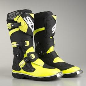 Buty Sidi Flame Czarno-Żółto Fluorescencyjne