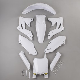 Cycra Powerflow Plastic Kit White