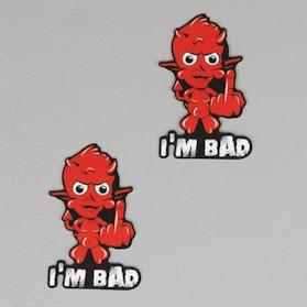 Mærkater OneDesign I'm Bad