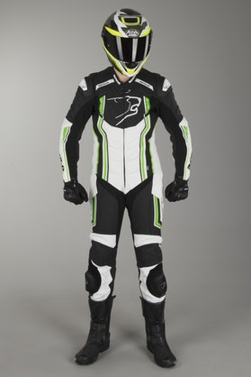 Bering Supra-R Leathers Black-White-Green