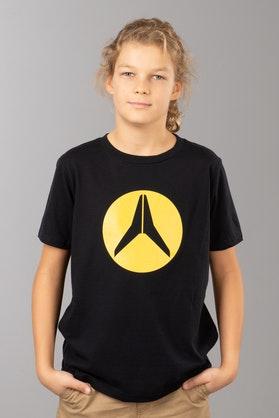 T-Shirt Alias Circled Dziecięcy Czarny