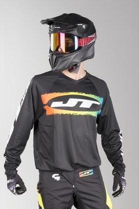 Bluza Cross JT Racing C4-Rasta BLKMUL