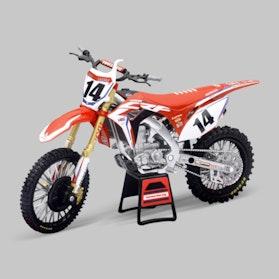 Miniatura Motocykla NewRay 1:12 Honda CRF450R HRC Racing Cole Seely