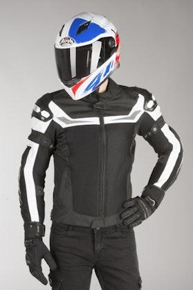 IXS Sport RS-1000 Air Jacket Black-White