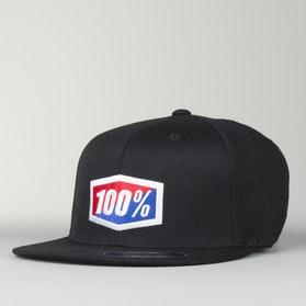 100% Essential FF Cap Black