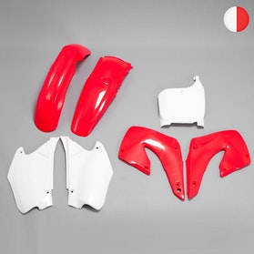 Komplet plastików Rtech Czerwono-Biały