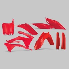 Komplet Plastikkit Acerbis Honda, Rød
