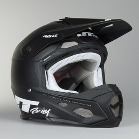 JT Racing ALS 2.0 Motocross Helmet Black