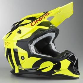 O'Neal 2-Series Slick MX Helmet Neon Yellow-Black