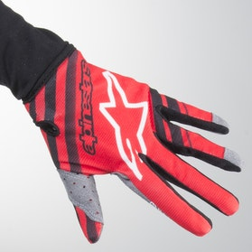 Alpinestars Radar Children's MX Gloves Red-Black