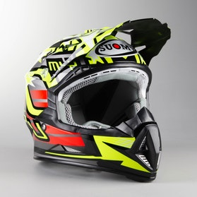 Kask Cross Suomy Rumble Freedom Żółto-Antracytowy