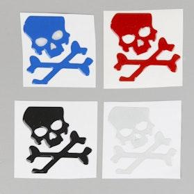 Naklejka OneDesign Skull Reflex