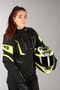 IXS Tour Powells-ST Women's Jacket Black-Fluo Yellow