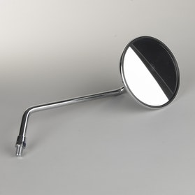 JMP Round Rear View Mirror - Chrome