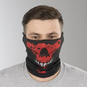 Halsedisse Course Red Skull