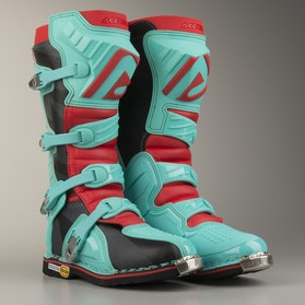 Acerbis X-Pro V Boots Green-Red