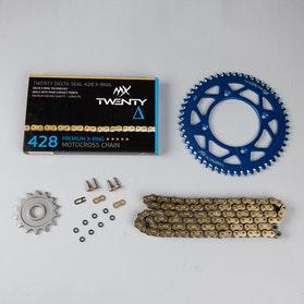 Zestaw napędowy MX Twenty Racing 520 MXP niebieski