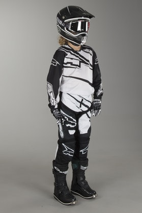 AXO SR Youth MX Kit Black & White