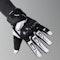 IXS Matador Gloves White-Black